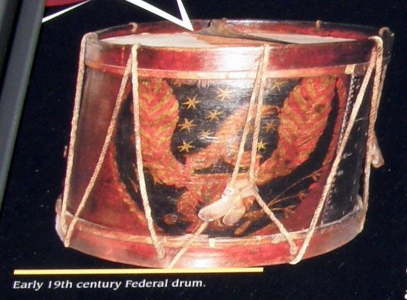 Insert - Military drum image. Click for full size.