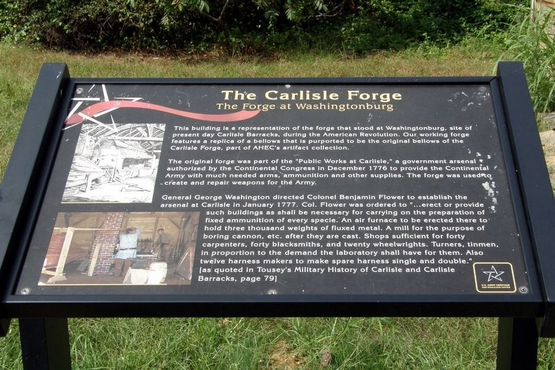 The Carlisle Forge Marker image. Click for full size.