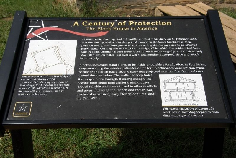 A Century of Protection Marker image. Click for full size.
