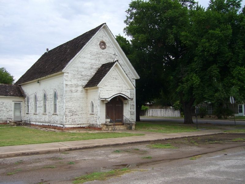 Trinity Church of Quanah image. Click for full size.