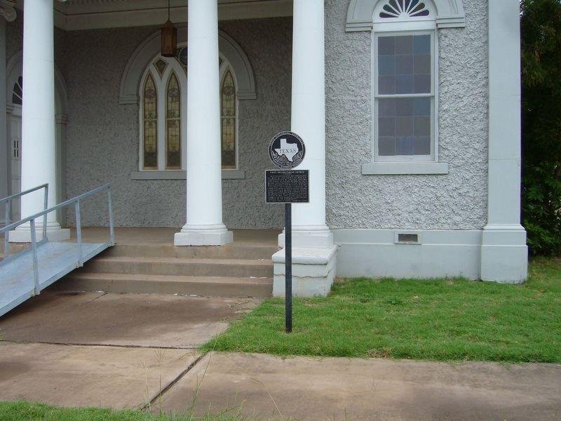 First Presbyterian Church of Quanah Marker image, Touch for more information