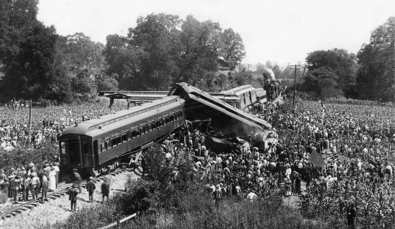 Dutchman's Curve Train Wreck image. Click for full size.