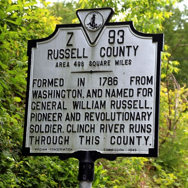 Russell County Face of Marker image. Click for full size.