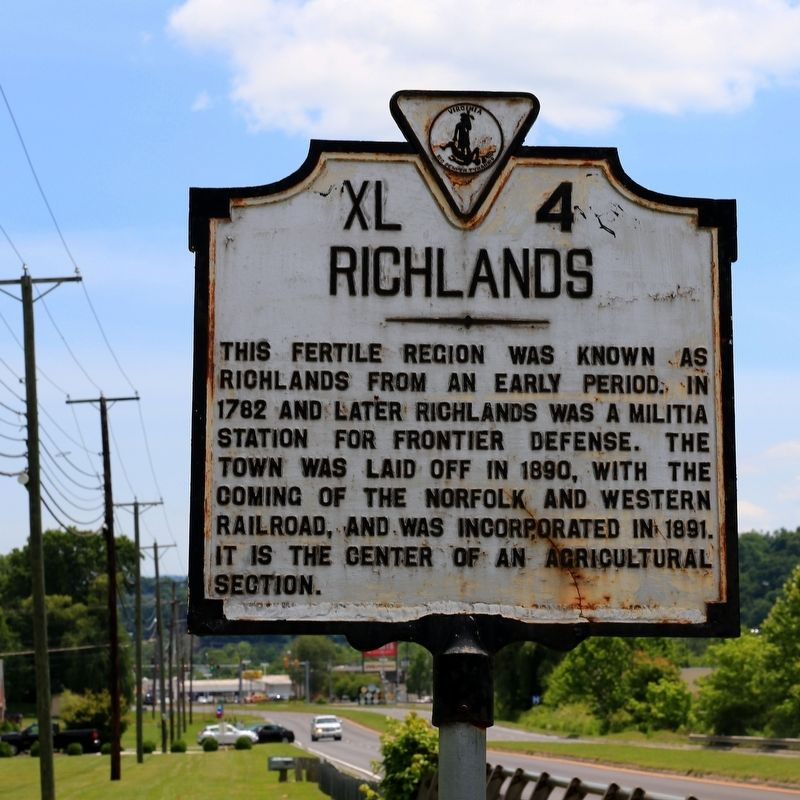 Richlands Marker image. Click for full size.