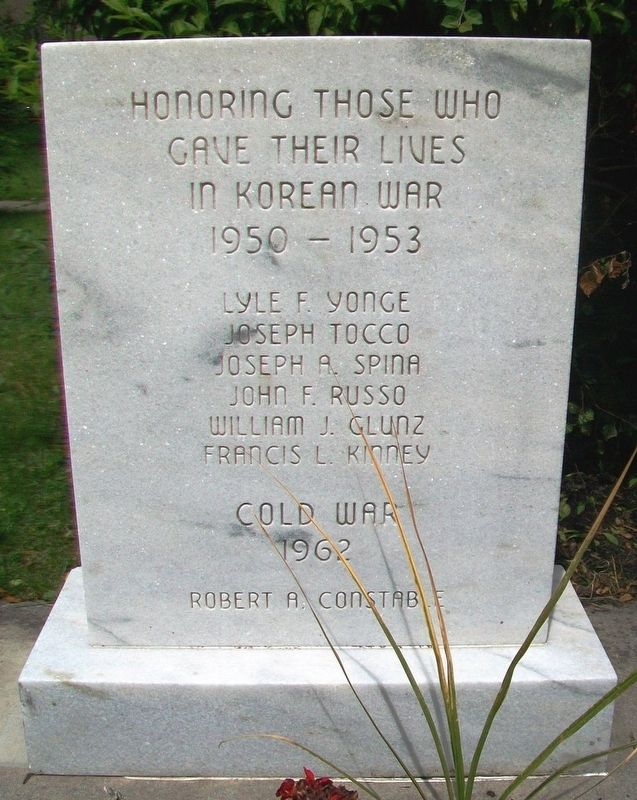 Korean War and Cold War Memorial image. Click for full size.