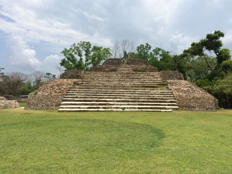 Temple A3 at Altun Ha image. Click for full size.