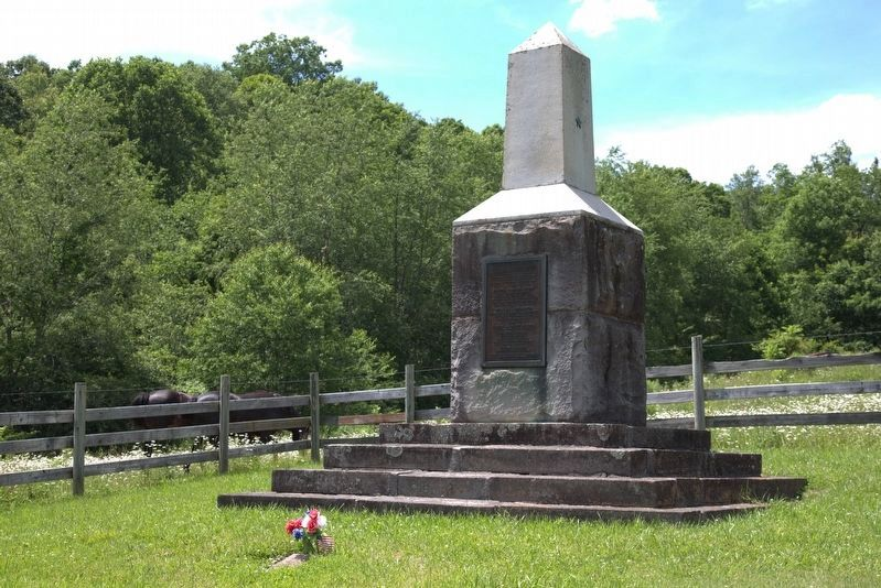 Captain James Moore Monument image. Click for full size.