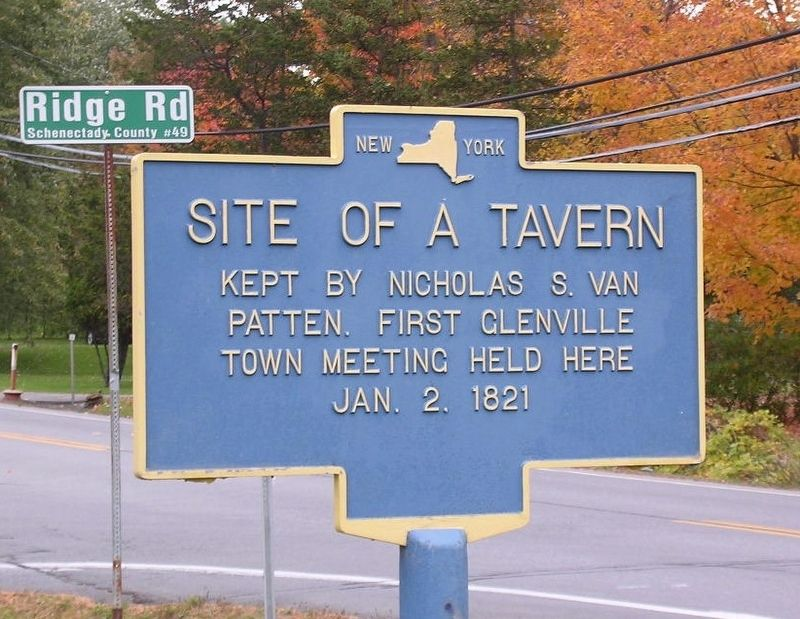 Site of a Tavern Marker image. Click for full size.