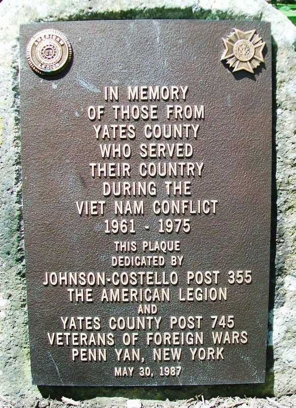 Vietnam Conflict Memorial Marker image. Click for full size.