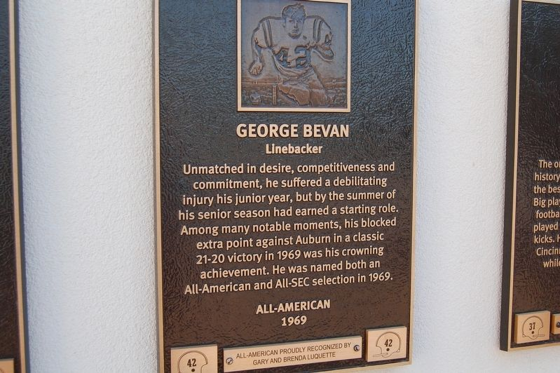 George Bevan Marker image. Click for full size.