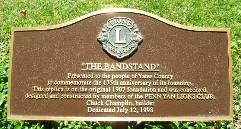 """The Bandstand"" Marker image. Click for full size."