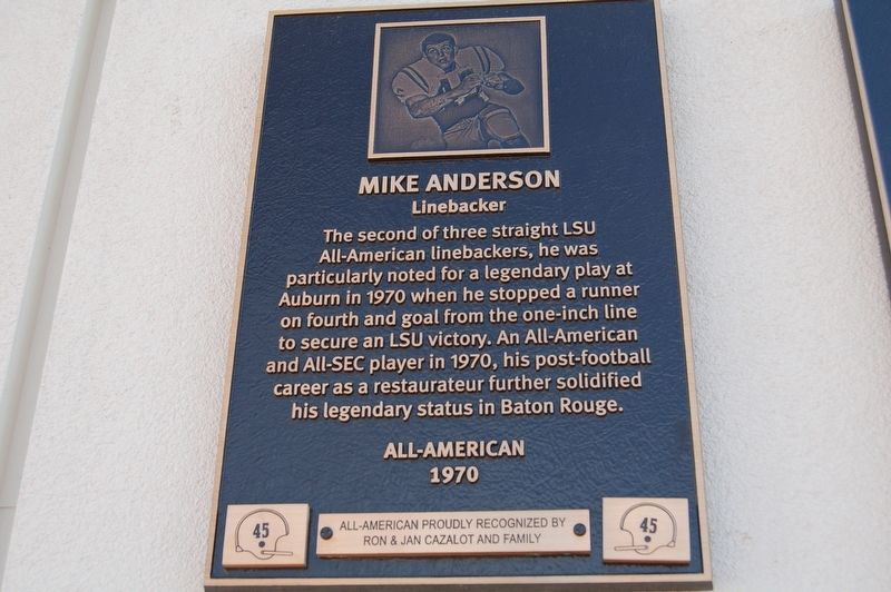 Mike Anderson Marker image. Click for full size.
