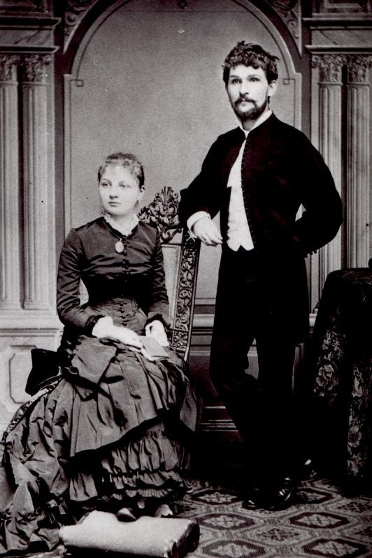 Leoš Janáček and his Wife image. Click for full size.