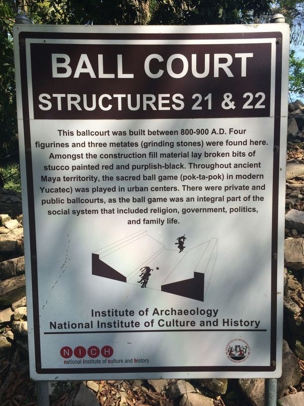Ball Court Marker image. Click for full size.