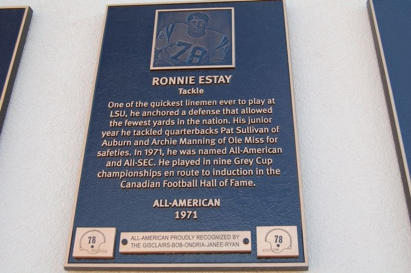 Ron Estay Marker image. Click for full size.