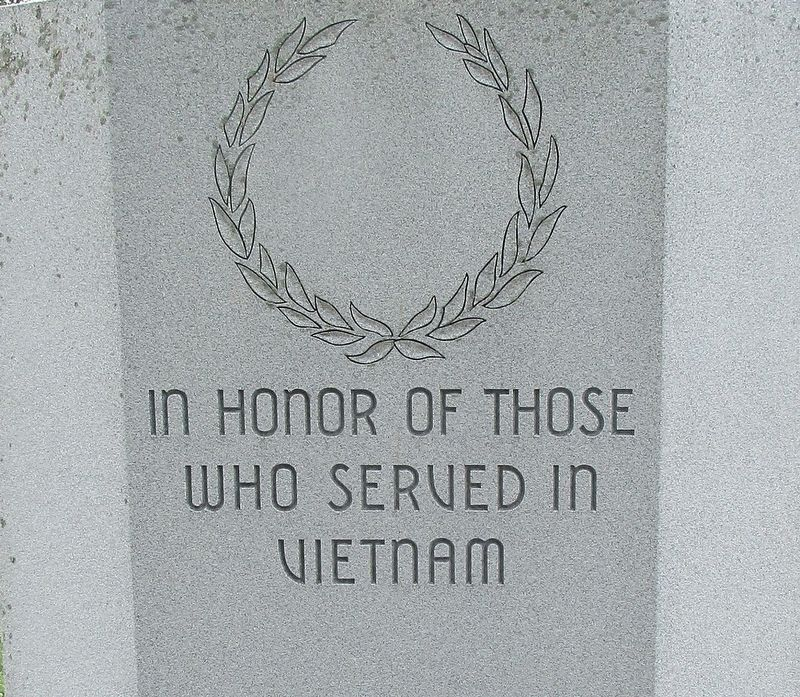Hardin County Viet Nam Memorial Marker image. Click for full size.
