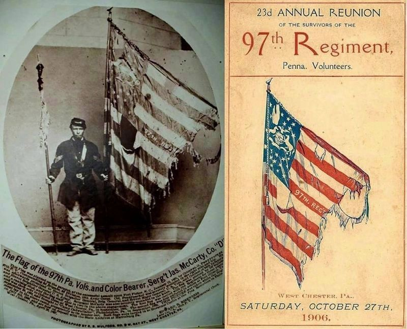 97th Pennsylvania Volunteers Reunion image. Click for full size.