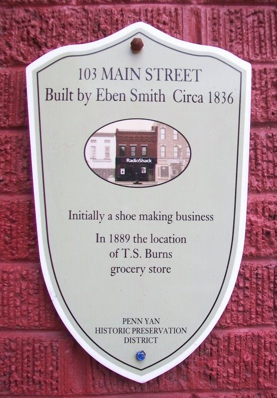 103 Main Street Marker image. Click for full size.