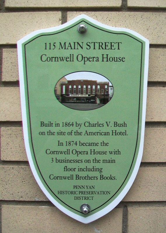 115 Main Street Marker image. Click for full size.