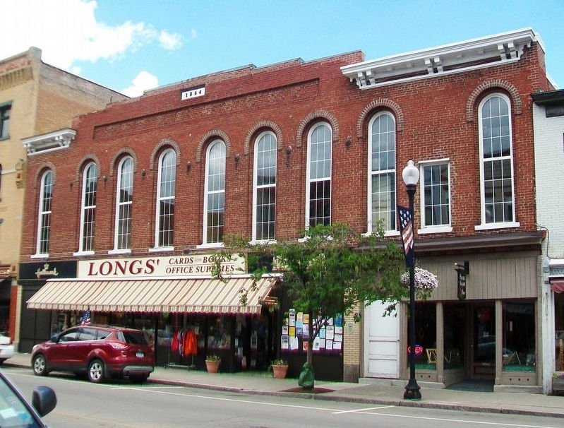 115 Main Street and Marker image. Click for full size.