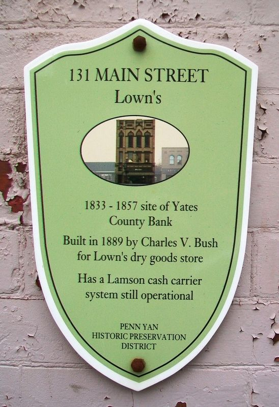131 Main Street Marker image. Click for full size.