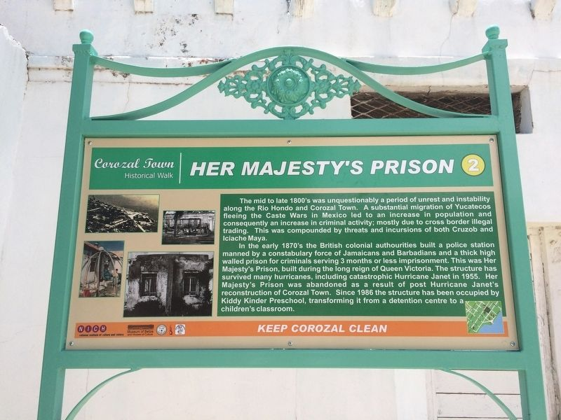 Her Majesty's Prison Marker image. Click for full size.