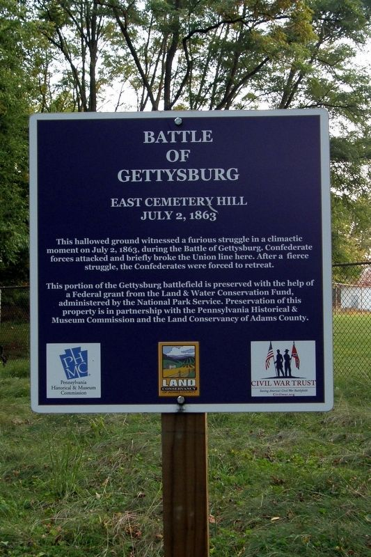Battle of Gettysburg Marker image. Click for full size.