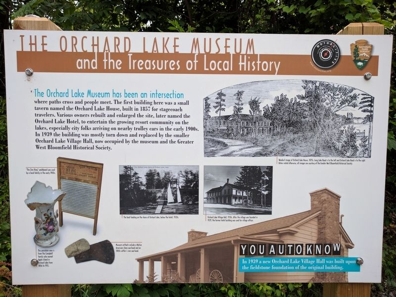 The Orchard Lake Museum Marker image. Click for full size.