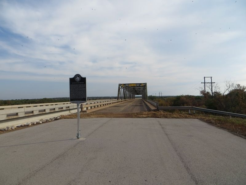 Brazos River Bridge Marker image. Click for full size.