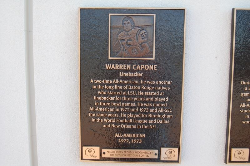 Warren Capone Marker image. Click for full size.