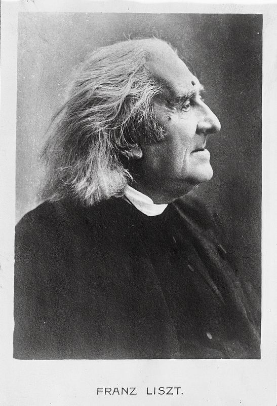 Franz Liszt image. Click for full size.