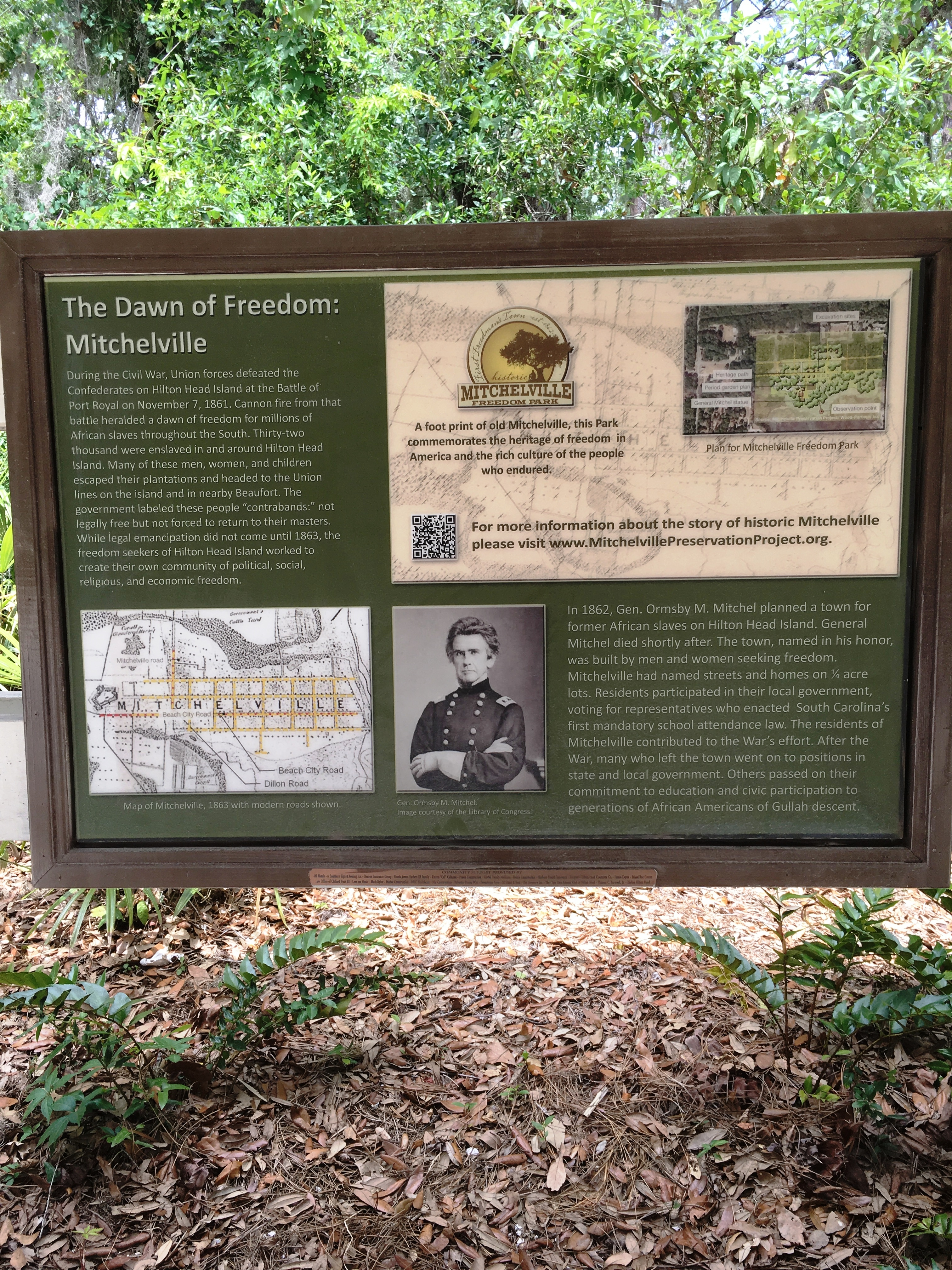 The Dawn of Freedom: Mitchelville Marker