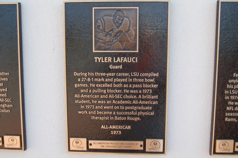 Tyler Lafauci Marker image. Click for full size.