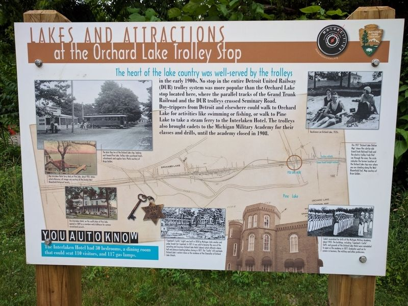 Lakes and Attractions Marker image. Click for full size.