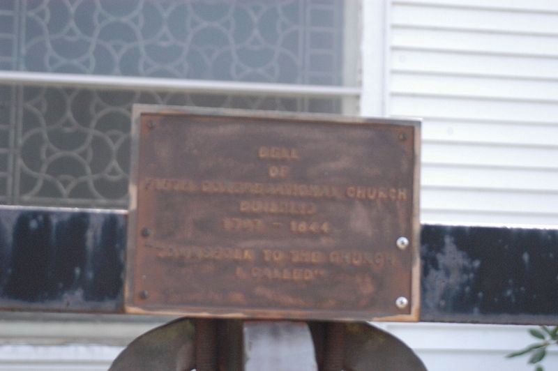 Bell of 5th Congregational Church Building Marker image. Click for full size.