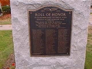 Rolls of Honor Viet Nam and Korean War Marker image. Click for full size.