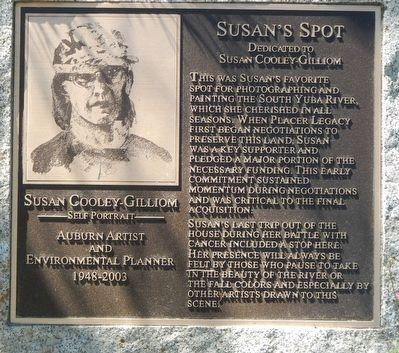 Susan's Spot Marker image. Click for full size.