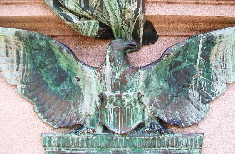 World War I Memorial Eagle image. Click for full size.