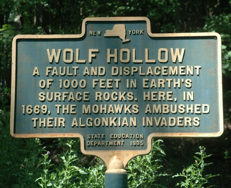Wolf Hollow Marker image. Click for full size.