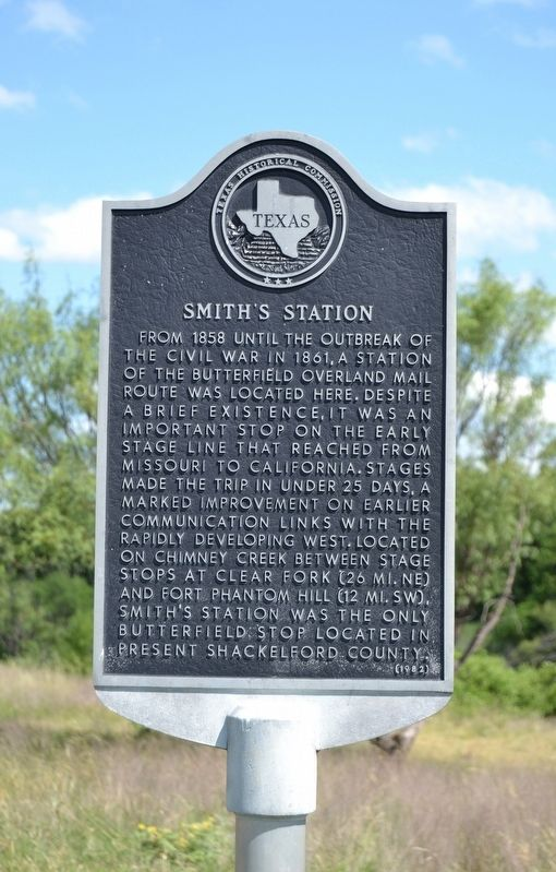Smith's Station Marker image. Click for full size.