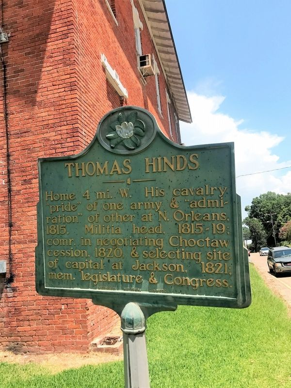Thomas Hinds Marker image. Click for full size.