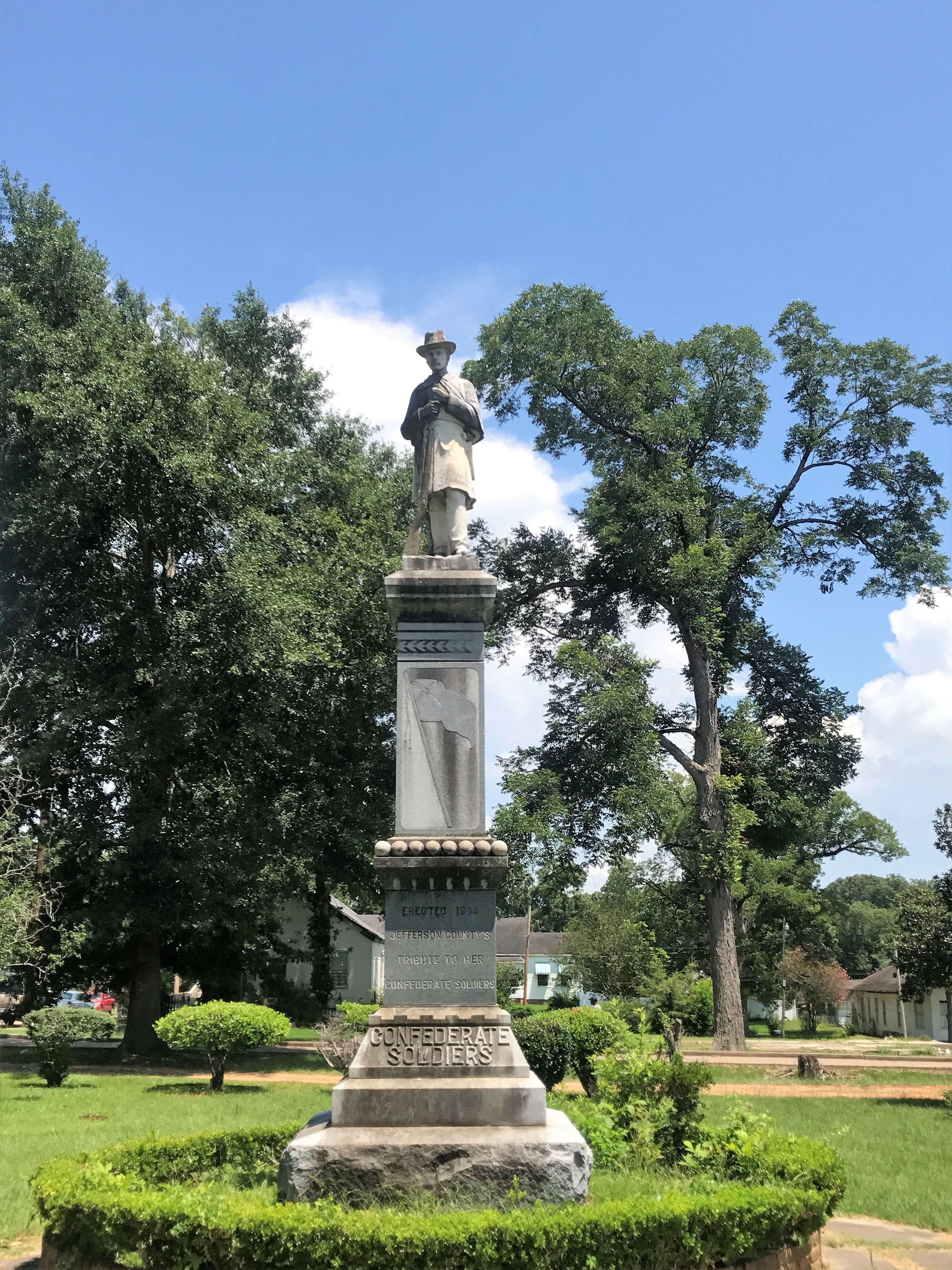 Confederate Soldiers Monument Marker