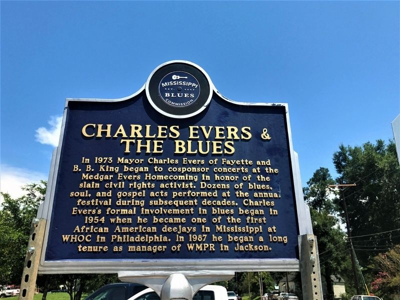 Charlie Evers & The Blues Marker image. Click for full size.