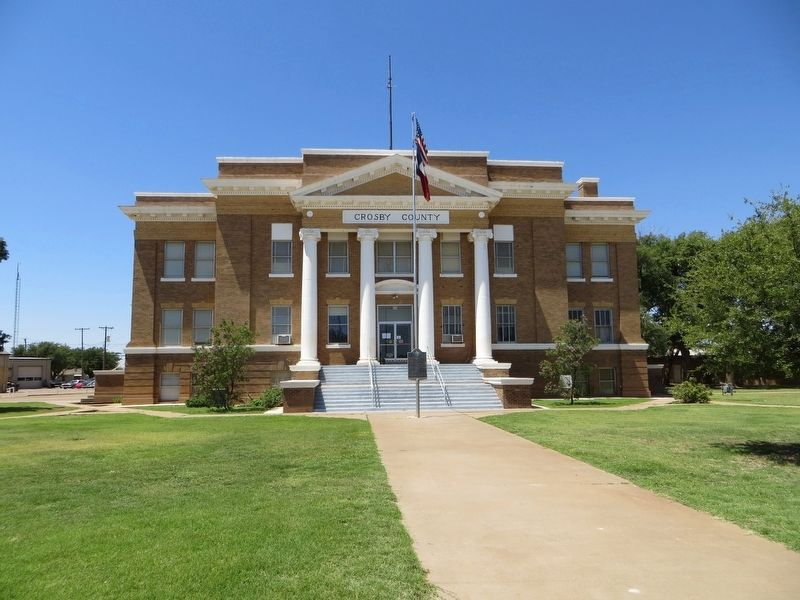 Crosby County Courthouse image. Click for full size.