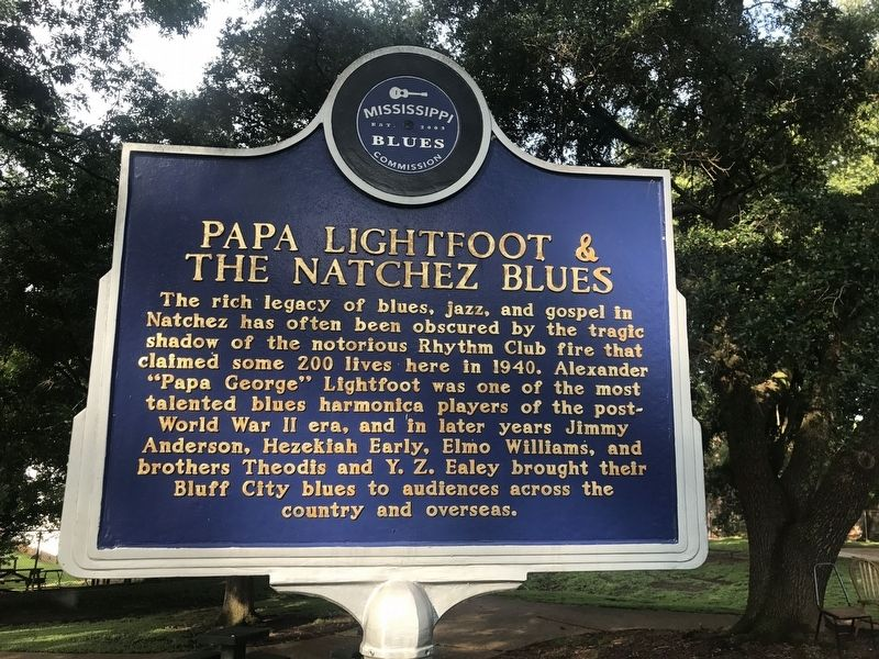 Papa Lightfoot Marker image. Click for full size.