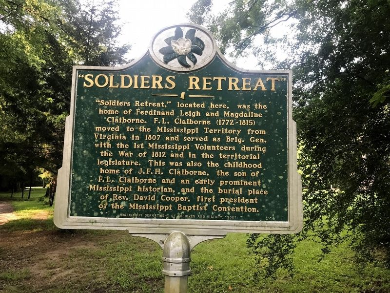 Soldiers Retreat Marker image. Click for full size.