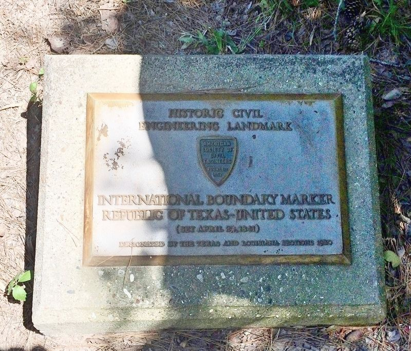 Historic Civil Engineering Landmark plaque. image. Click for full size.