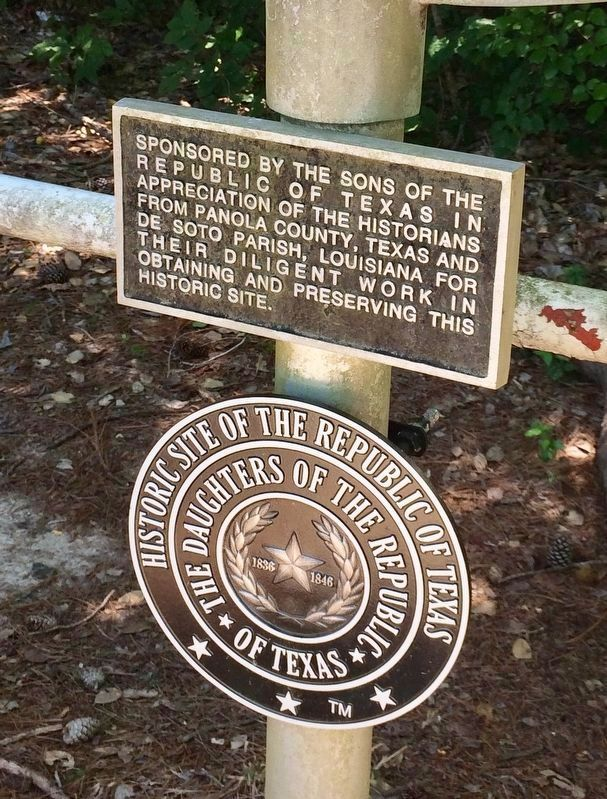 Lower plaques on this marker. image. Click for full size.
