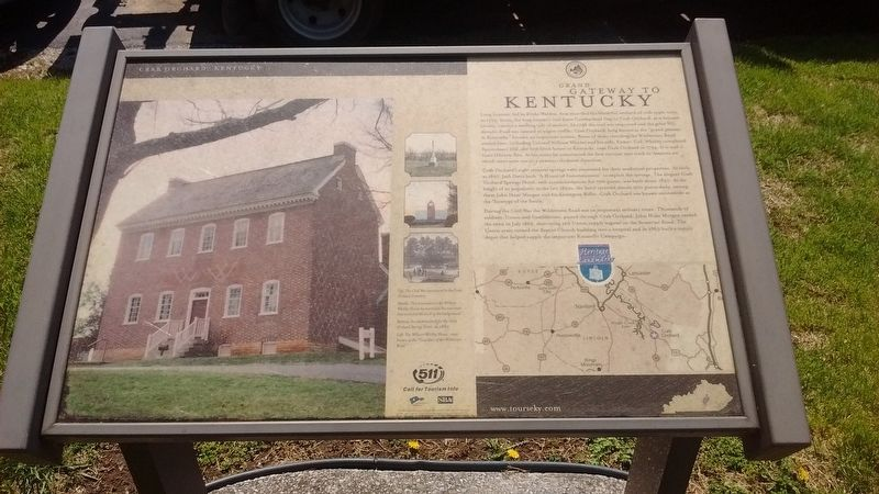 Grand Gateway to Kentucky Marker image. Click for full size.