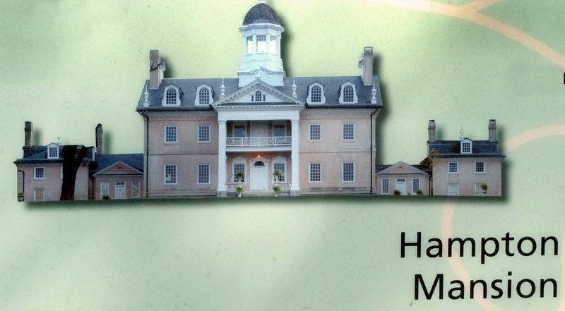 Hampton Mansion image. Click for full size.